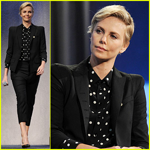 Charlize Theron Discusses AIDS Prevention at Clinton Global Initiative