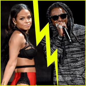 Christina Milian & Lil' Wayne Split? (Report)