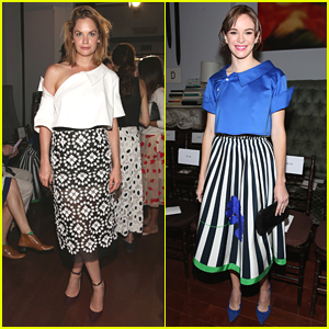 Ruth Wilson & Danielle Panabaker Hit Monse Fashion Show at New York Fashion Week