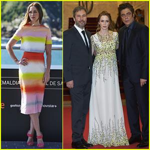 Emily Blunt Stuns at the San Sebastian Film Festival Premiere of 'Sicario'