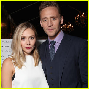 Elizabeth Olsen Couples Up With Tom Hiddleston at InStyle & HFPA TIFF Party