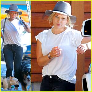 Hilary Duff Debuts a Cute New Haircut