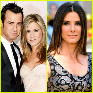 Jennifer Aniston & Sandra Bullock Double Date with Their Men!