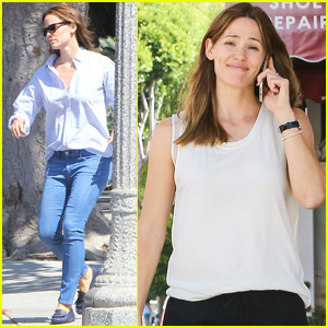 Jennifer Garner Gets Her Afternoon Errands Done