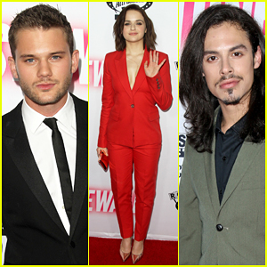 Jeremy Irvine, Joey King, & Jonny Beauchamp Get Red Carpet Ready for 'Stonewall' L.A. Premiere!