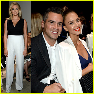 Jessica Alba Makes a Date Night Out of NYFW Show!