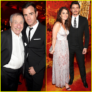 Justin Theroux & Pedro Pascal Suit Up For HBO's Emmy After Party 2015!