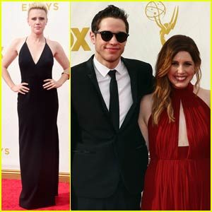 Kate McKinnon & 'Saturday Night Live' Cast Steps Out for Emmy Awards 2015