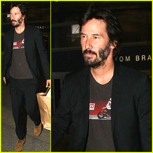 Keanu Reeves Is Back in the US After Quick Europe Trip