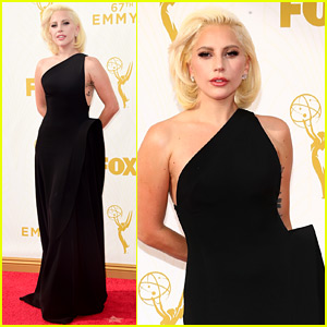 Lady Gaga Cheers on 'AHS' Co-Stars at Emmys 2015!