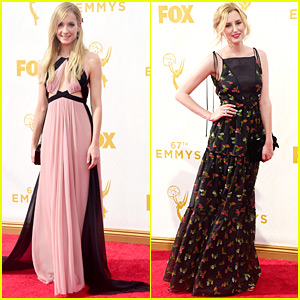 Joanne Froggatt & Laura Carmichael Rep 'Downton Abbey' At Emmy Awards 2015