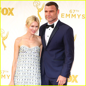 Naomi Watts Supports Liev Schreiber at Emmys 2015!