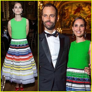 Natalie Portman Supports Hubby Benjamin Millepied at Paris Ballet's Opening Gala!
