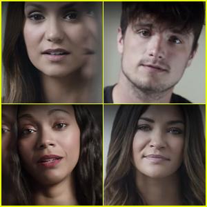 Nina Dobrev & Josh Hutcherson Say 'It's On Us' in Sexual Assault PSA (Video)