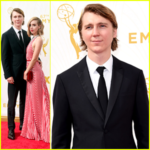 Paul Dano & Zoe Kazan Are Picture Perfect on Emmys Red Carpet