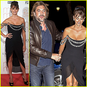 Penelope Cruz & Javier Bardem Make Rare Appearance Together at Her Premiere!