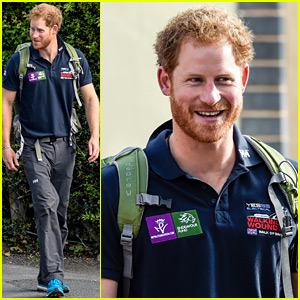 Prince Harry Is Still Sporting That Sexy Beard!