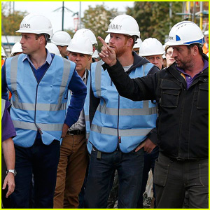 Princes William & Harry Put On Their Hard Hats for 'DIY SOS'