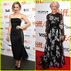 Rachel McAdams & Helen Mirren Premiere Films at TIFF 2015