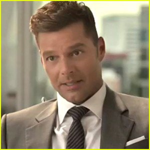 Ricky Martin Channels Christian Grey for Nescafe Commercial!