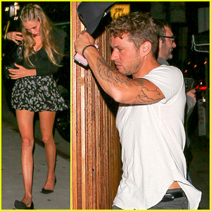 Ryan Phillippe & Girlfriend Paulina Slagter Step Out for Date Night
