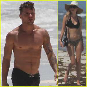 Ryan Phillippe Bares His Shirtless Body on Vacation with Paulina S