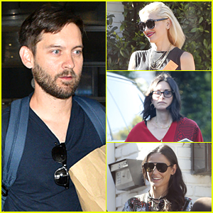 Tobey Maguire Hosts Star-Studded Party at His Home