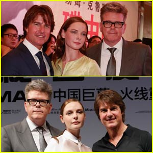 Tom Cruise Brings 'Mission: Impossible - Rogue Nation' to China
