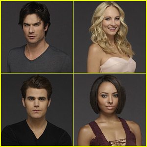 Ian Somerhalder & 'The Vampire Diaries' Cast Give Their Characters Advice Heading into Season Seven (JJ Interview)