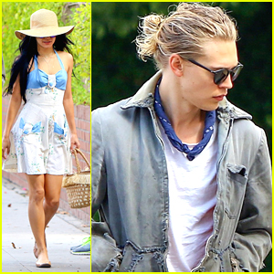 Vanessa Hudgens & Austin Butler Grab Breakfast in Beverly Hills
