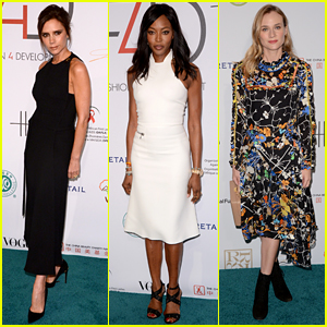Victoria Beckham Honored with Fashion 4 Development Award
