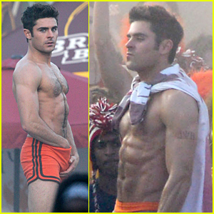 Zac Efron Sticks Hand in Shorts, Flaunts Eight Pack Abs!