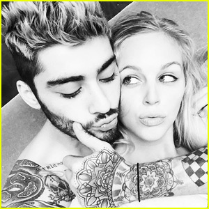 Zayn Malik Gets Cozy With Mystery Blonde Girl on Instagram