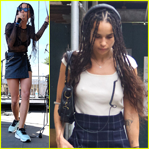 Zoe Kravitz Says Critics Are Just Waiting For Something To Get Mad At In the Movies