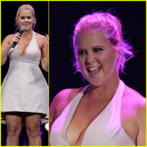 Amy Schumer Hits the Stage at the Oddball Festival 2015