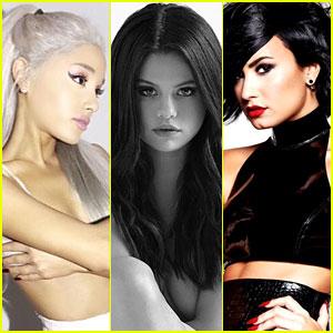 Ariana Grande, Selena Gomez, & Demi Lovato Had a Twitter Love Fest
