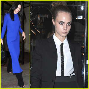 Cara Delevingne Wears Lip Ring For Women Of the World Summit