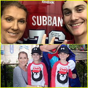 Celine Dion's Three Kids Are Growing Up So Quick!