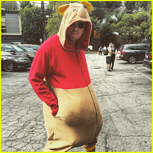 Channing Tatum Goes Undercover in Winnie the Pooh Costume!