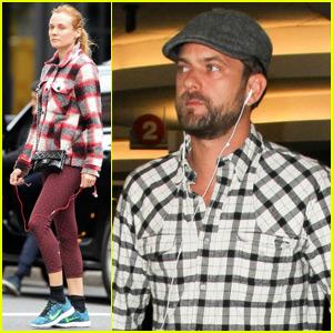 Diane Kruger & Joshua Jackson Watch 'The Affair' Separately