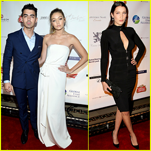 Gigi Hadid & Joe Jonas Make First Red Carpet Appearance!