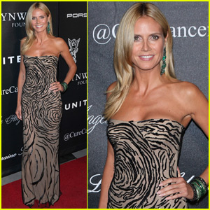 Heidi Klum Honored at Angel Ball For Contributions to Cancer Research