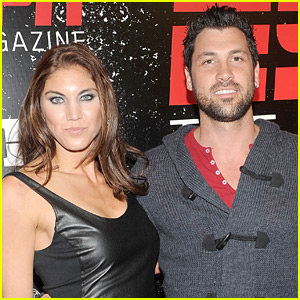 Hope Solo Responds to Former 'DWTS' Partner Maksim Chmerkovskiy, Throws Major Shade