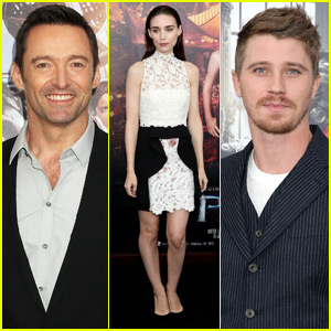 Hugh Jackman & Rooney Mara Premiere 'Pan' in NYC With Garrett Hedlund