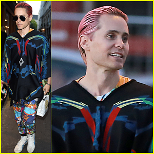 Jared Leto Goes Shirtless In His Latest Instagram Pic!