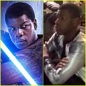John Boyega Shares His Full 'Star Wars' Reaction Video!
