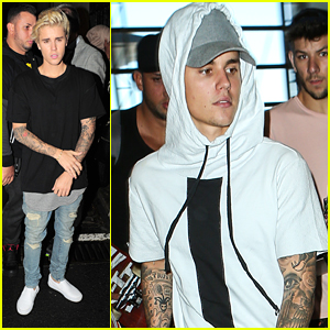 Justin Bieber Jets To London Ahead Of 'Sorry' Song Debut