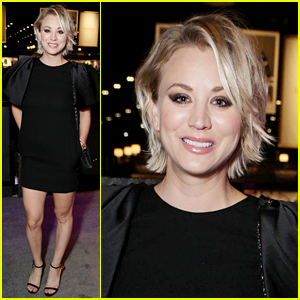 Kaley Cuoco Makes First Official Post-Split Appearance