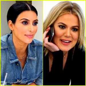 Kim Kardashian Isn't Happy That Khloe Kardashian is 'Flirting' with Lamar Odom (Video)