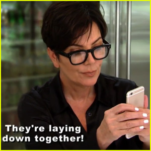 Kris Jenner & Kim Kardashian Find Out About Scott Disick's Cozy Ex-Girlfriend Photos in New 'KUWTK' Clip